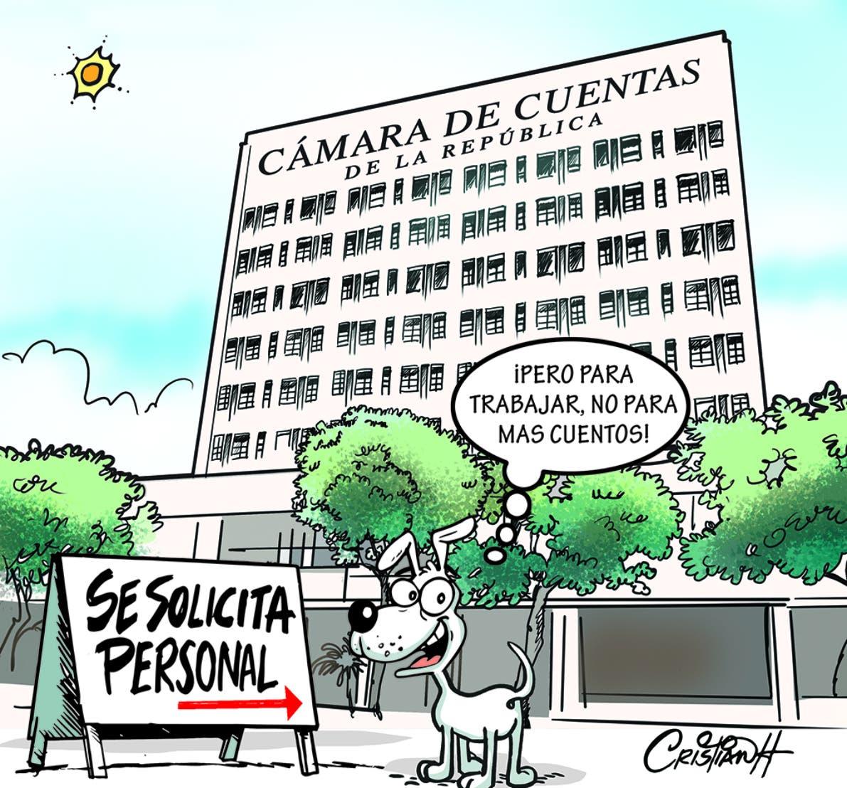 Caricatura Cristian Caricaturas – El Día, 21 de Octubre, 2020