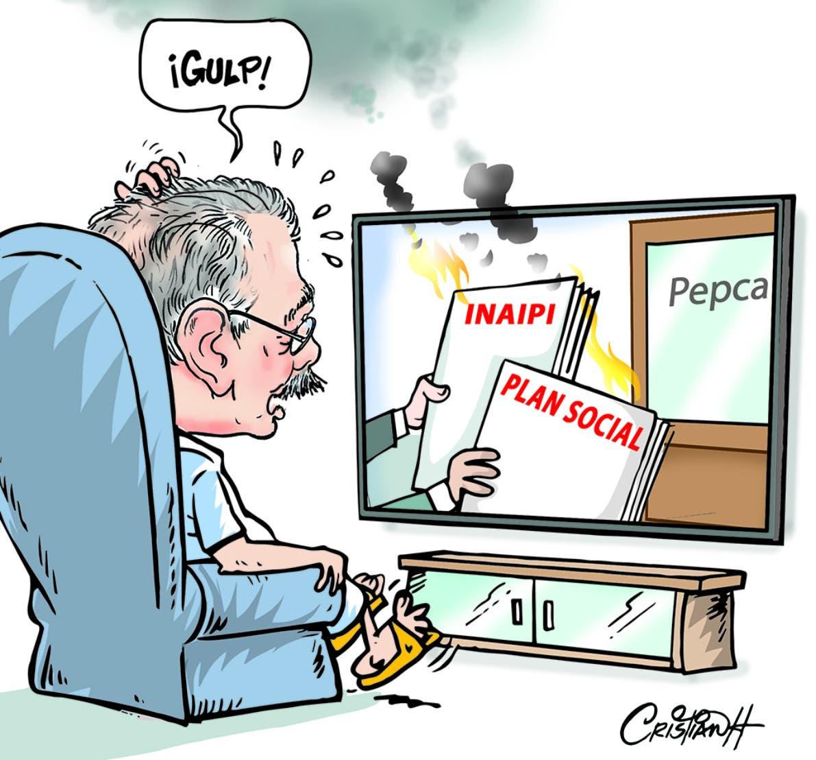 Caricatura Cristian Caricaturas – El Día, 28 de Octubre, 2020
