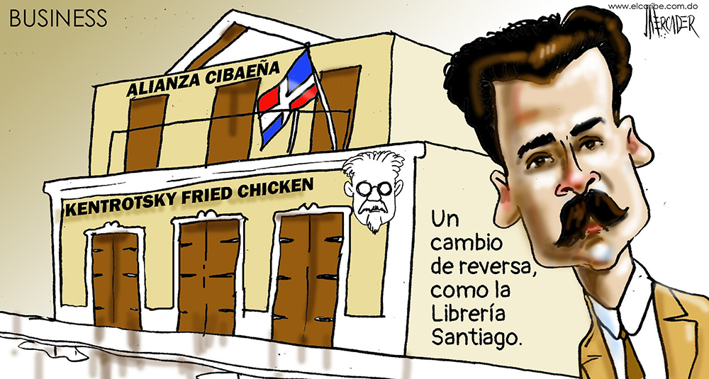 Caricatura El Caribe – Mercader, 23 de Octubre, 2020