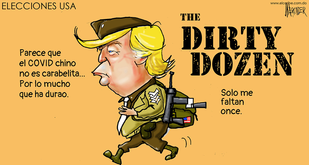 Caricatura El Caribe – Mercader, 29 de Octubre, 2020