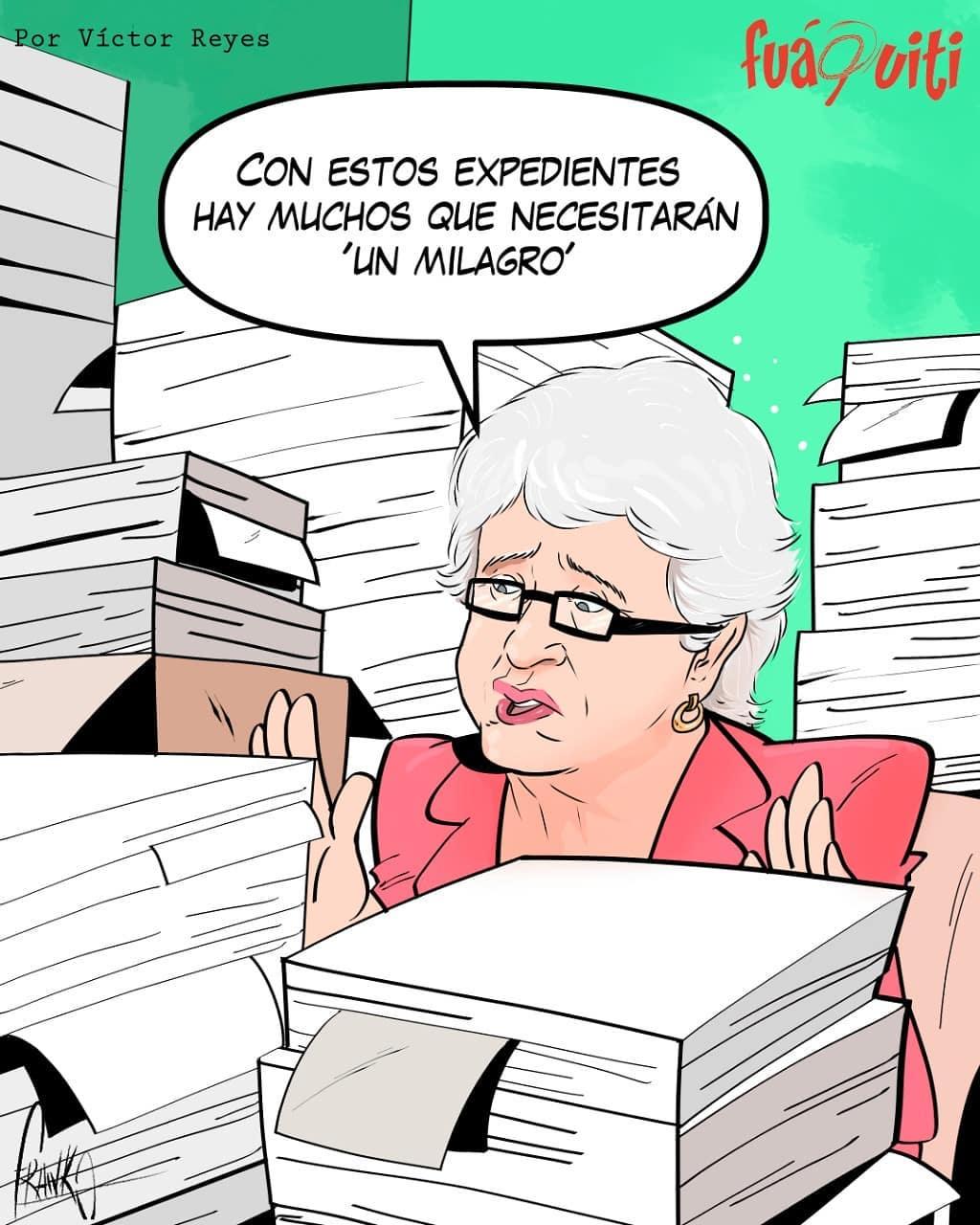 Caricatura Fuaquiti, 24 de Octubre, 2020 – ¡Ni un milagro nos salva!