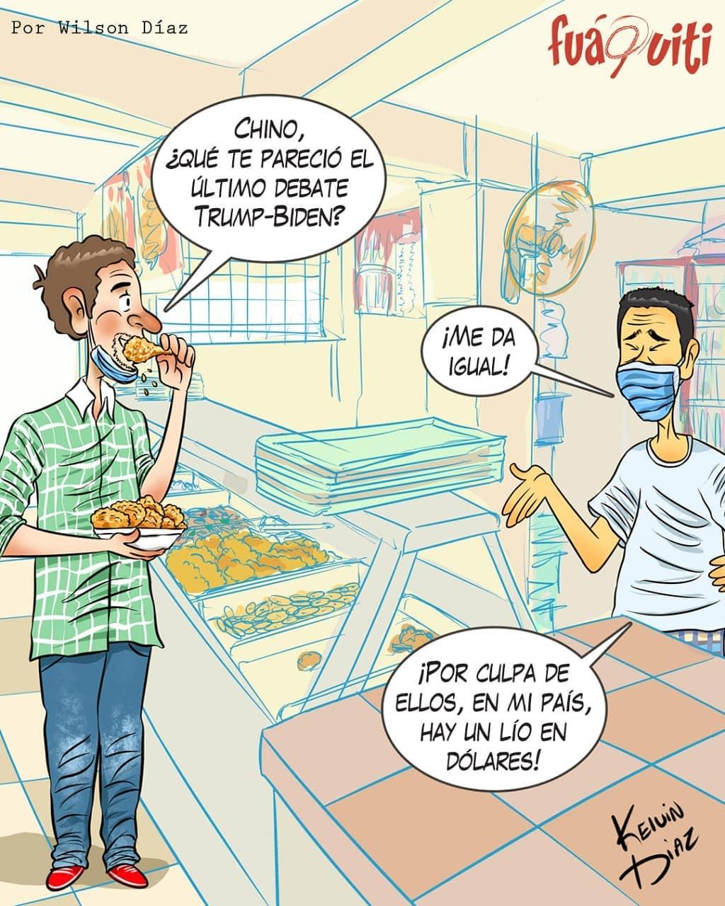 Caricatura Fuaquiti, 25 de Octubre, 2020 – ¡El Pica-Tollo!