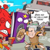 Caricatura Fuaquiti, 27 de Octubre, 2020 – ¡El Gladiador!