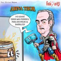 Caricatura Fuaquiti, 28 de Octubre, 2020 – ¡Abina Thor!