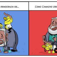 Caricatura Jarúl – 27 de Octubre, 2020 – ¡Camacho! ¡Corrupto!