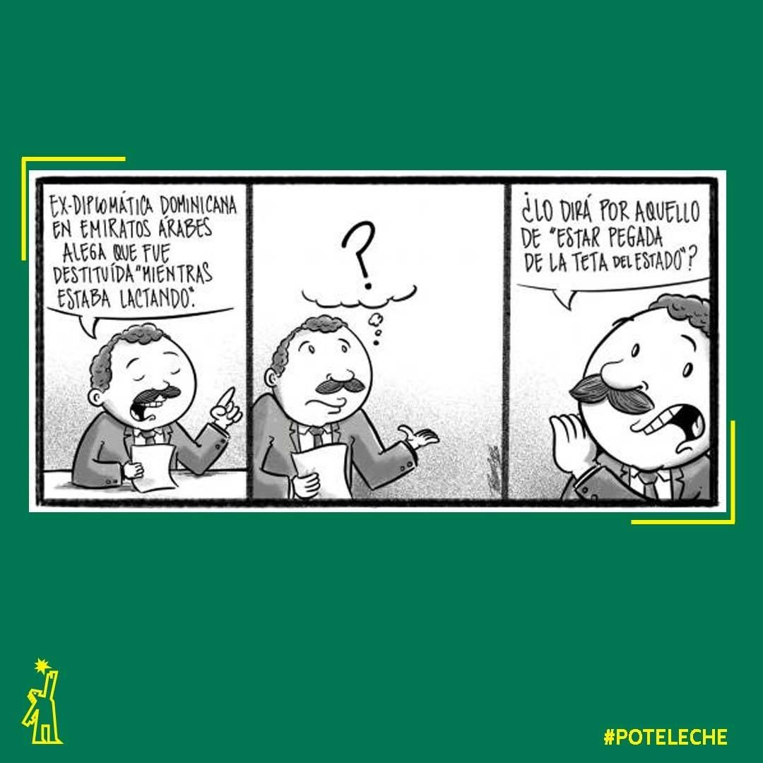 Caricatura Noticiero Poteleche – Diario Libre, 21 de Octubre, 2020