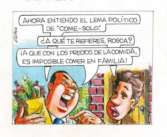 Caricatura Rosca Izquierda – Diario Libre, 15 de Octubre, 2020