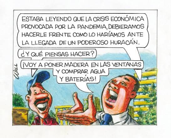 Caricatura Rosca Izquierda – Diario Libre, 21 de Octubre, 2020