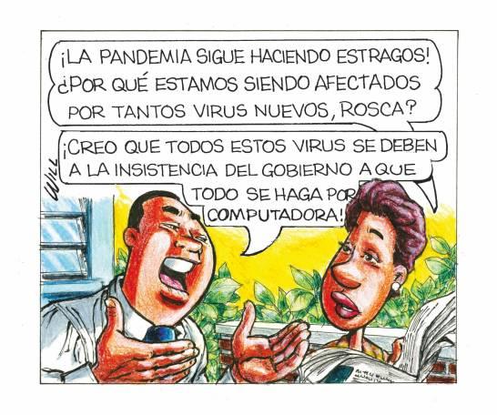 Caricatura Rosca Izquierda – Diario Libre, 26 de Octubre, 2020