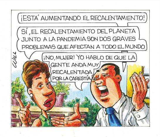 Caricatura Rosca Izquierda – Diario Libre, 28 de Octubre, 2020