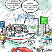 Caricatura Cristian Caricaturas – El Día, 12 de Noviembre, 2020