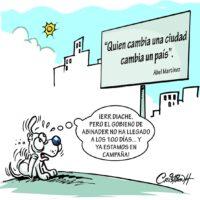 Caricatura Cristian Caricaturas – El Día, 13 de Noviembre, 2020