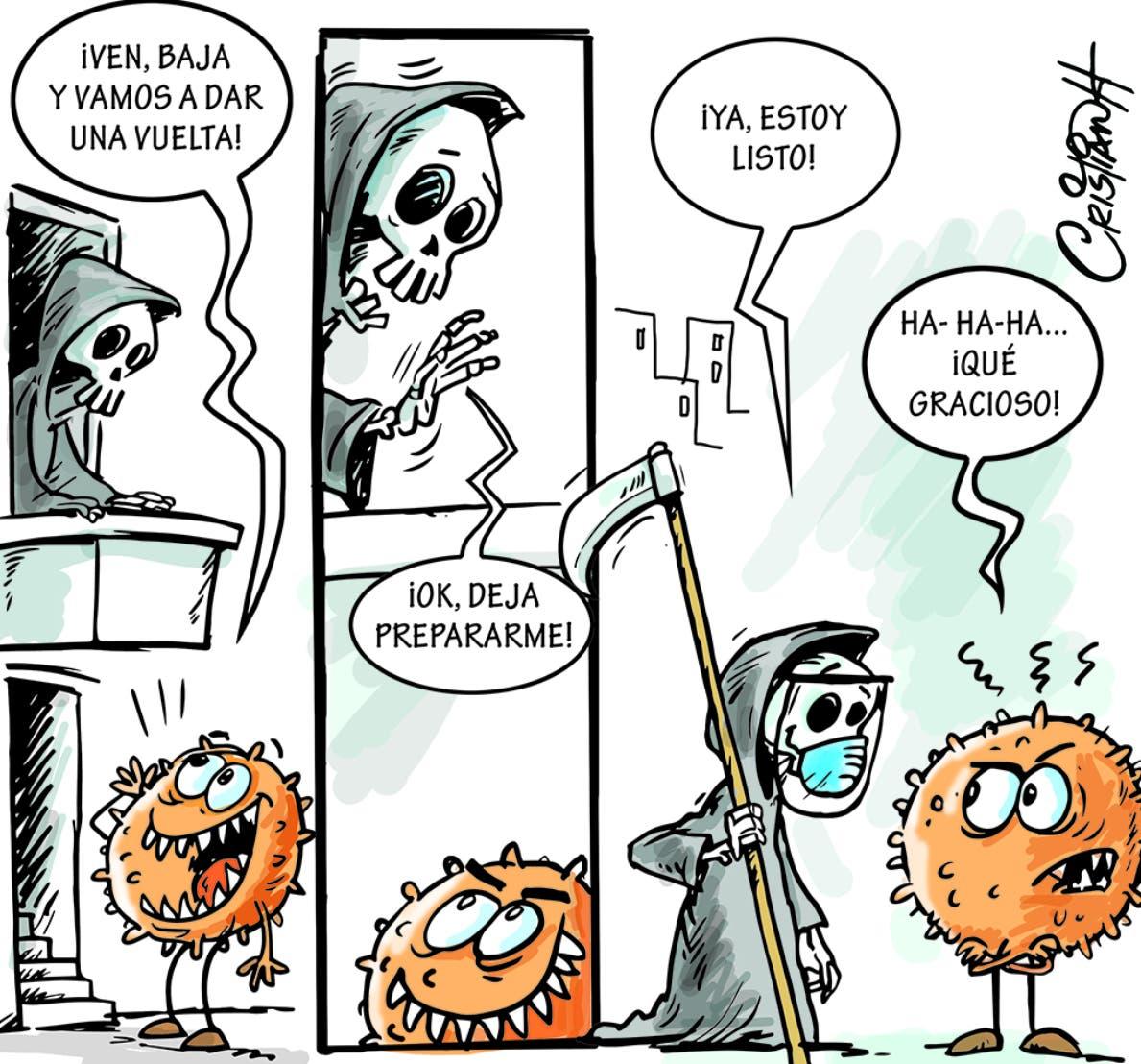 Caricatura Cristian Caricaturas – El Día, 17 de Noviembre, 2020