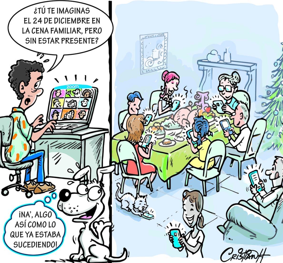 Caricatura Cristian Caricaturas – El Día, 19 de Noviembre, 2020