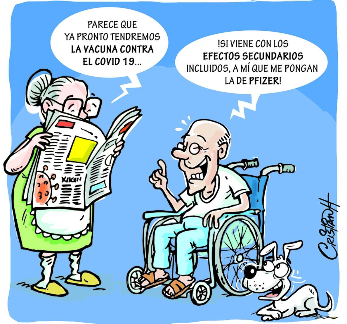 Caricatura Cristian Caricaturas – El Día, 20 de Noviembre, 2020