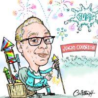 Caricatura Cristian Caricaturas – El Día, 24 de Noviembre, 2020