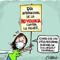 Caricatura Cristian Caricaturas – El Día, 25 de Noviembre, 2020