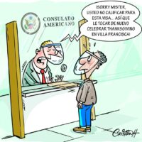 Caricatura Cristian Caricaturas – El Día, 26 de Noviembre, 2020