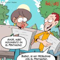 Caricatura Fuaquiti, 13 de Noviembre, 2020 – ¡El Pentágono!