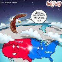 Caricatura Fuaquiti, 13 de Noviembre, 2020 – ¡No estamos tan unidos no!