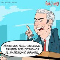 Caricatura Fuaquiti, 14 de Noviembre, 2020 – ¡El Matrimonio Infantil!