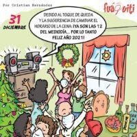 Caricatura Fuaquiti, 24 de Noviembre, 2020 – ¡Almuerzo el 31 de diciembre!