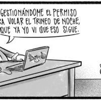 Caricatura Noticiero Poteleche – Diario Libre, 12 de Noviembre, 2020