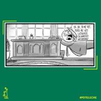 Caricatura Noticiero Poteleche – Diario Libre, 26 de Noviembre, 2020
