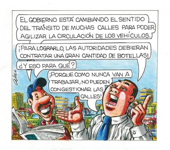 Caricatura Rosca Izquierda – Diario Libre, 17 de Noviembre, 2020