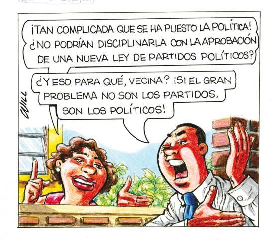 Caricatura Rosca Izquierda – Diario Libre, 19 de Noviembre, 2020
