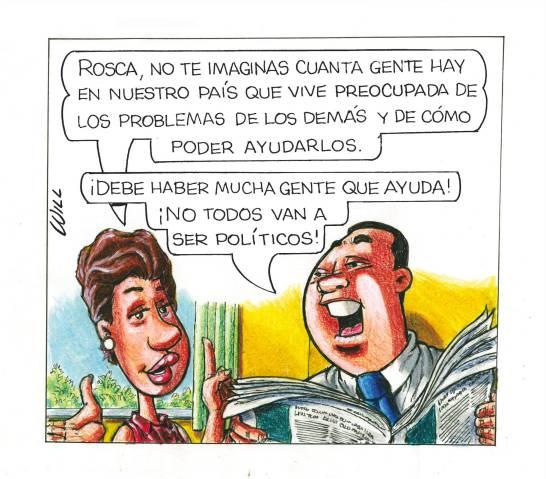 Caricatura Rosca Izquierda – Diario Libre, 23 de Noviembre, 2020