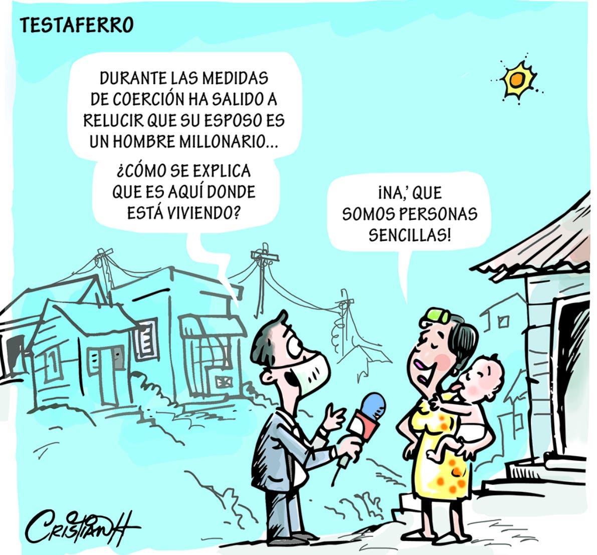 Caricatura Cristian Caricaturas – El Día, 08 de Diciembre, 2020