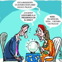 Caricatura Cristian Caricaturas – El Día, 10 de Diciembre, 2020