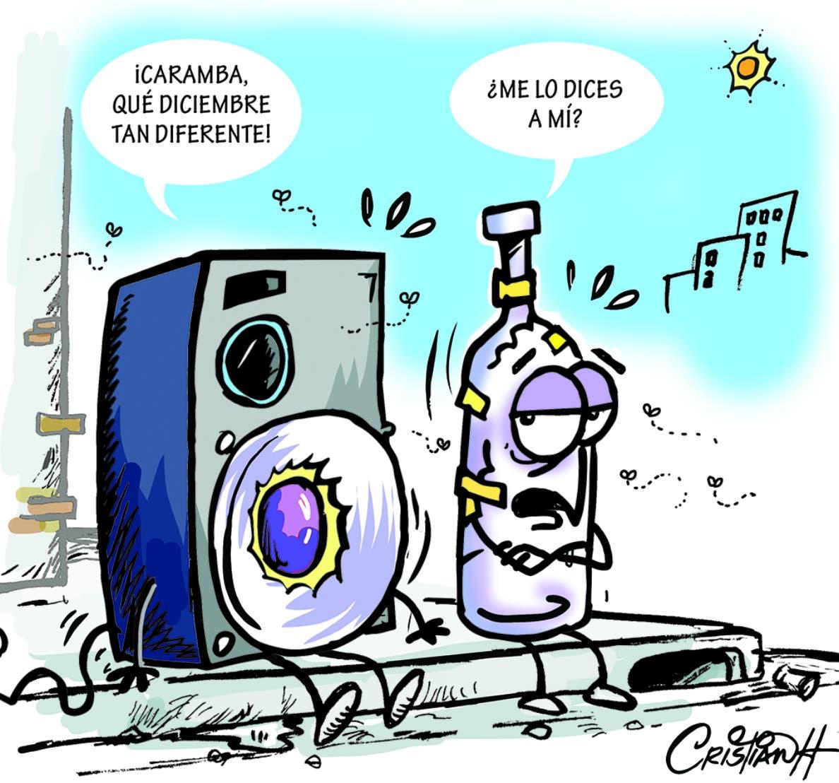 Caricatura Cristian Caricaturas – El Día, 11 de Diciembre, 2020