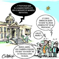 Caricatura Cristian Caricaturas – El Día, 14 de Diciembre, 2020