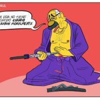 Caricatura Jarúl – 04 de Diciembre, 2020 – No hay honor para un Harakiri