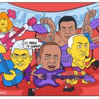 Caricatura Jarúl – 07 de Diciembre, 2020 – ¡La pulpo Band! ¿Quién será el Mánager