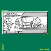 Caricatura Noticiero Poteleche – Diario Libre, 14 de Diciembre, 2020