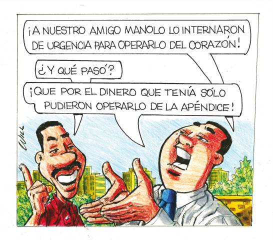 Caricatura Rosca Izquierda – Diario Libre, 10 de Diciembre, 2020