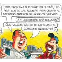Caricatura Rosca Izquierda – Diario Libre, 14 de Diciembre, 2020