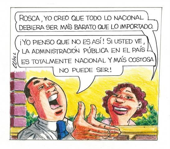 Caricatura Rosca Izquierda – Diario Libre, 15 de Diciembre, 2020