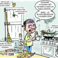 Caricatura Cristian Caricaturas – El Día, 06 de Enero, 2021