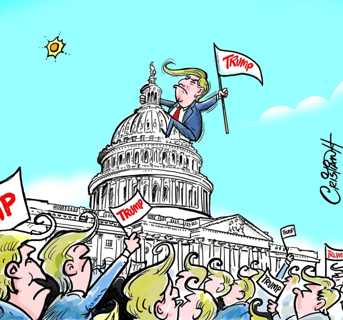 Caricatura Cristian Caricaturas – El Día, 07 de Enero, 2021
