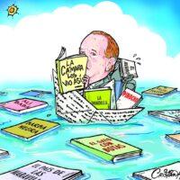 Caricatura Cristian Caricaturas – El Día, 14 de Enero, 2021