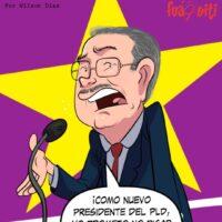 ¡Danilo en su proclamación! – Caricatura Fuaquiti, 17 de Marzo, 2021