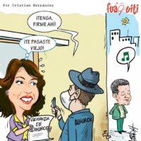 ¡Demanda de Divorcio! – Caricatura Fuaquiti, 21 de Marzo, 2021