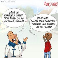 ¡Don pueblo y el funcionario! – Caricatura Fuaquiti, 19 de Marzo, 2021