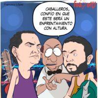 ¡El debate! – Caricatura Fuaquiti, 24 de Marzo, 2021
