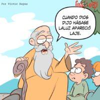 ¡Hágase Laluz!, Caricatura Fuaquiti, 25 de Marzo, 2021