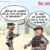 ¡Plan Nacional de Seguridad! – Caricatura Fuaquiti, 24 de Marzo, 2021
